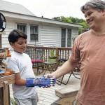 3D printer makes new hand