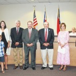 Educators recognized by commissioners