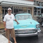 Hundreds brave downpour to attend cruise-in