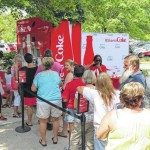 Coke drinks up praise at sign event