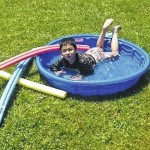 Students enjoyed water play activites