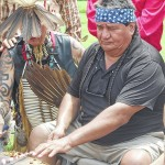 94-year-old veteran opens Pow-Wow with 'Taps'