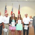 SCC golfers recognized