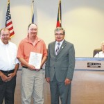 Stamper recognized for Special Olympics work