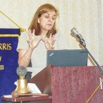 Rotary Club hears the story of Katherine Reynolds