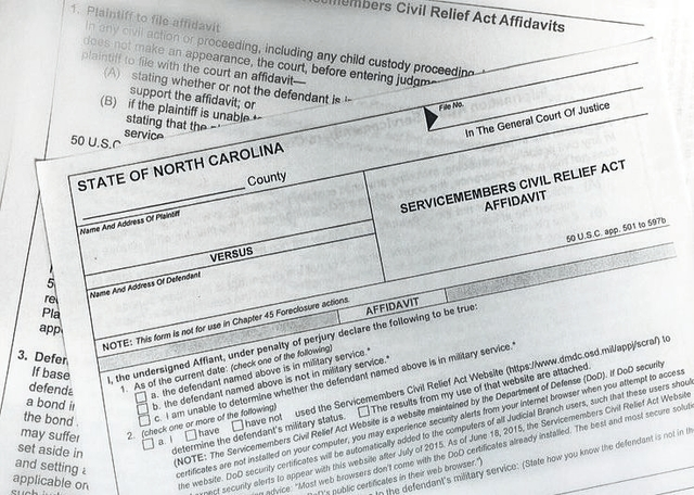 Mt. Airy News | Military service form needed in all civil cases