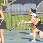 Central tennis tops Forbush 8-1