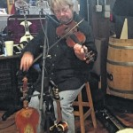 Second Annual Fiddle Auction for Mount Airy Downtown Inc., announces new insturment for next year.