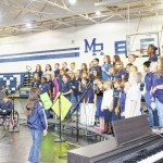Mount Airy City Schools held their annual community night at Mount Airy High School.