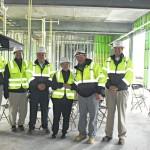 ASU students, Rep. Foxx visit Omega Construction site