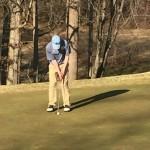 Hounds improve in 2nd golf match