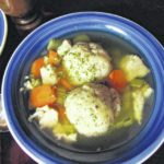 It's not a dumpling, it's a matzo ball