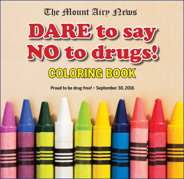 DARE Coloring Book 2016