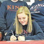 MA's Payne signs scholarship