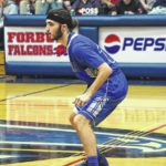 Greyhounds roll past Falcons, 104-78