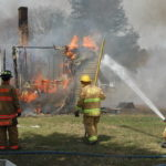 Saturday blaze a training mission for fire fighters