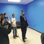 State Superintendent Mark Johnson visits Surry County Schools