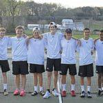Bear tennis shares NW title