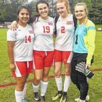 Lady Cardinals march on