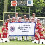 East Surry 9-10 LL wins District