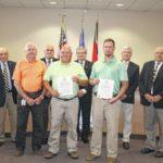 County Board presents awards