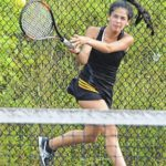 Lady Eagles rally past East Surry, 5-4