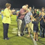 Sandy George honored by school system