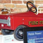 Pedal cars roll into museum display