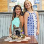 Sisters spend summer living in the past