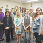 County honors Governor's School students