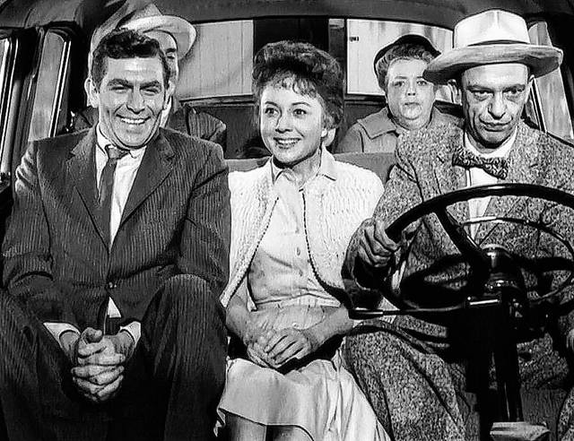 Andy Griffith Barney S First Car Cast