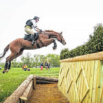 Jessica Bortner-Harris competes in Retired Racehorse Project competition