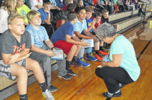 Author visits Surry County students
