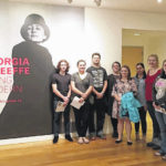 SCC students visit O'Keeffe exhibit