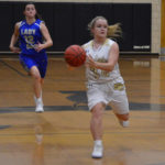 Lady Eagles rout Elks for sixth win