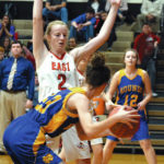 Lady Hounds hold ball, hold off East Surry