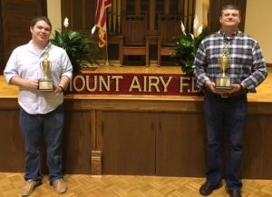 City firemen of the year named