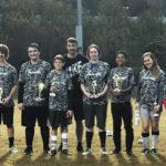 Pilot team wins local soccer tournament