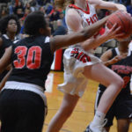 Lady Cards second in conference with blowout victory