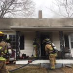 Fire hits Haymore Street home in Mount Airy