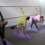 Library offers free yoga classes