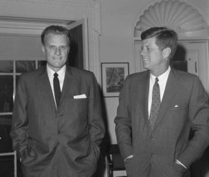 Billy Graham, celebrity preacher, dies at 99