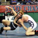 Eight local wrestlers are place-winners