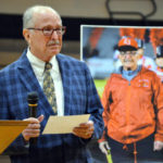 East Surry dedicates new fieldhouse to Downs