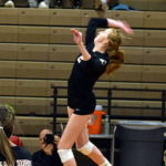 Clayton named All-State in volleyball
