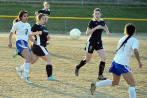Lady Hounds outshoot Atkins, but take first loss