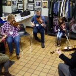 Old-time music retreat hits high note