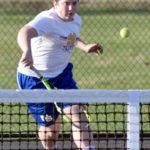 Bears down Hounds in tennis opener